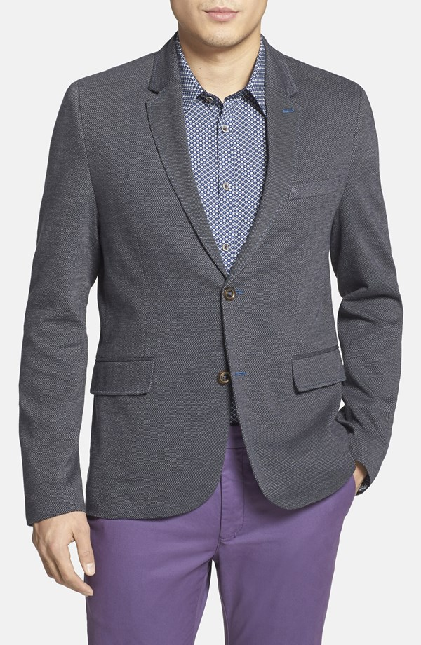 how to wear a blazer with jeans