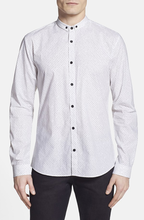 hugo-number-print-shirt