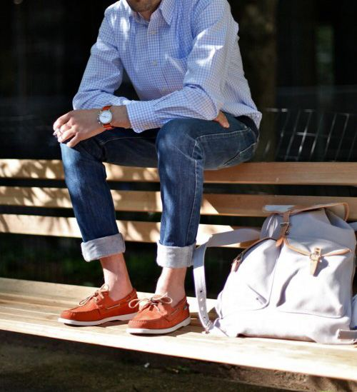 How To Wear Loafers - Show Your Ankles - V-Style For Men