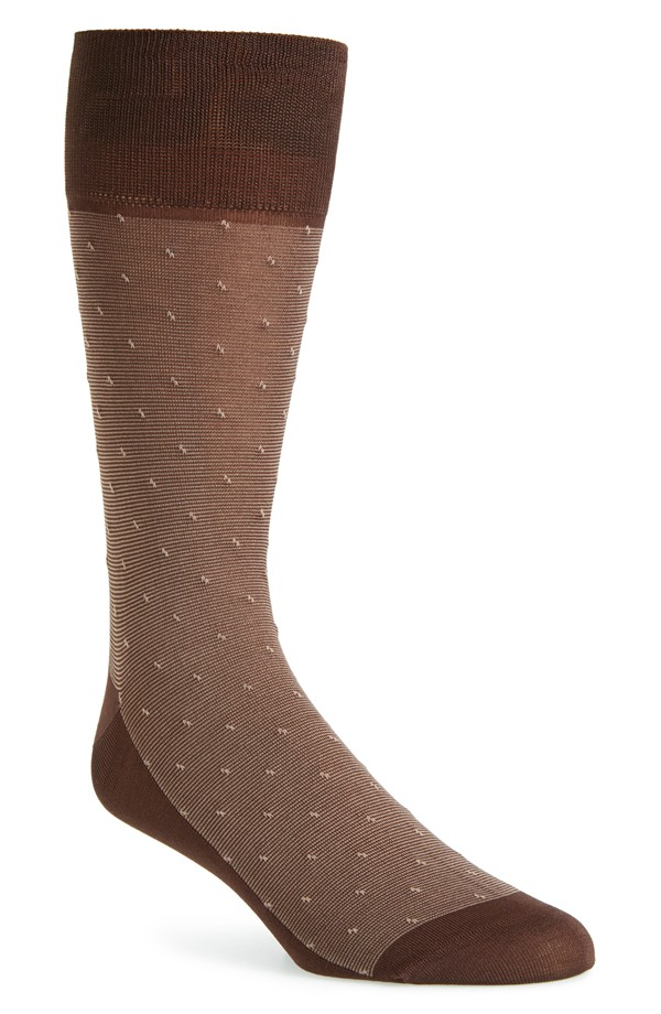 medium brown socks to go with brown dress shoes