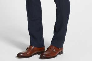 what sock to wear with brown shoes