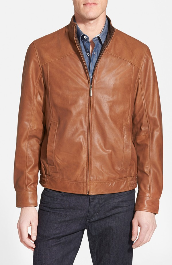 best everyday jacket tan leather