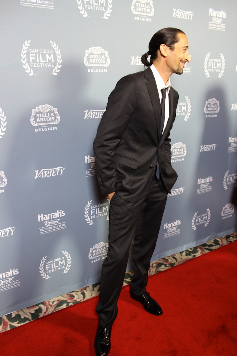 Adrien Brody Shows How To Dress Up At The San Diego Film Festival