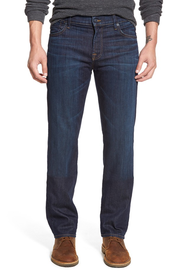 7 For All Mankind (Luxe Performance Straight Leg) $198