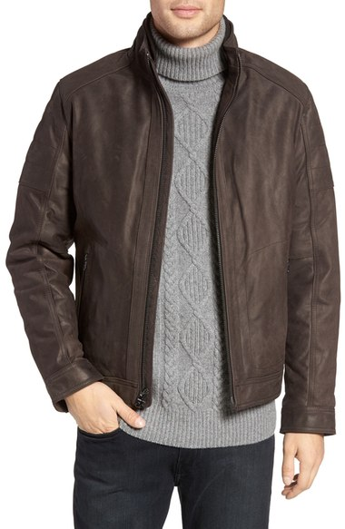 brown-leather-jacket-michael-kors