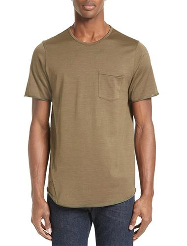 dark olive green t-shirt