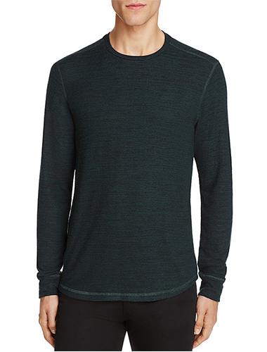 forest green long sleeve t-shirt