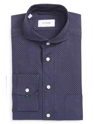 dress shirt for narrow shoulders