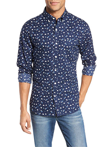 bonobos slim fit print sport shirt mens printed shirts