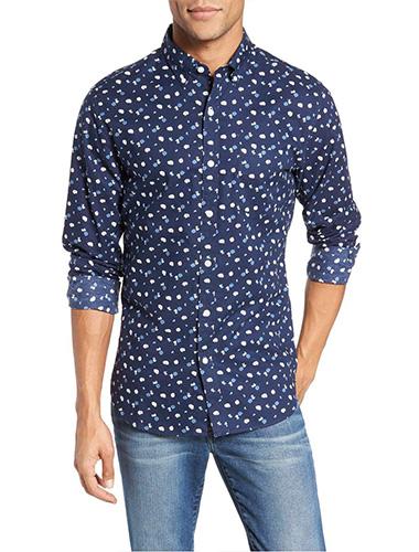 bonobos slim fit print sport shirt mens printed shirts