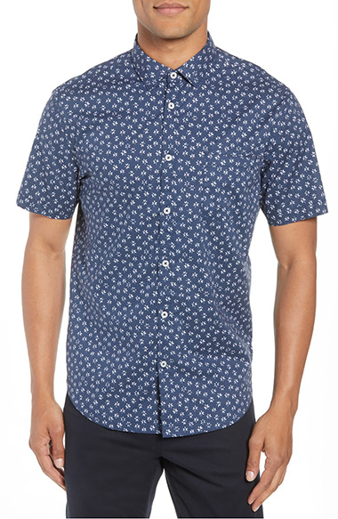 short sleeve button up shirts