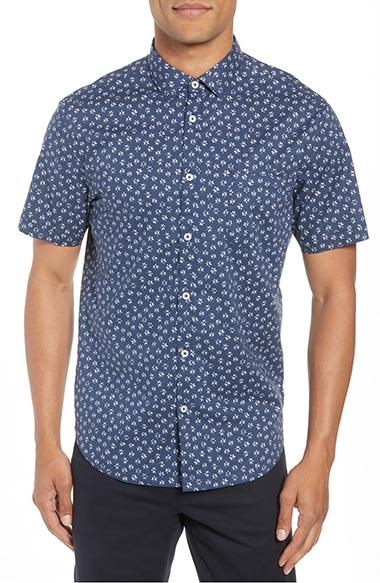 short sleeve button up shirts