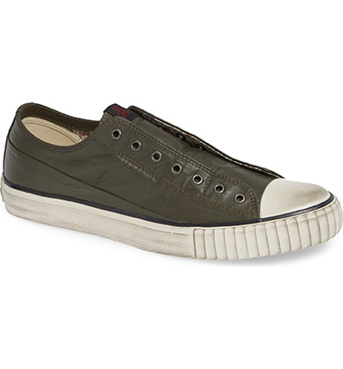 olive green shoes