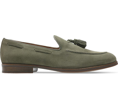 olive green shoes for men